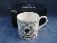 WEDGWOOD RICHARD GUYATT MUG ROYAL WEDDING PRINCESS ANNE  NEW
