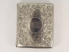 Antique Cigarette Case Sterling Silver DS Blanckensee Chester 1908 87g Jz86