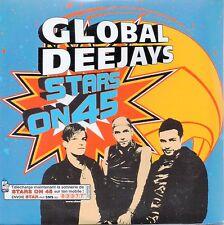 ★☆★ CD SINGLE GLOBAL DEEJAYSStars on 45 - 1-track CARD SLEEVE  ★☆★