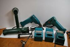 Makita Assortment: Drills Light Chargers 6010D some work other 4 parts
