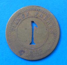 Paris , Vianey frères , 40 centimes + 1 franc ----- INEDITS !