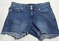 Rock & Republic Denim Blue Jean Cut-off Shorts Womens Size 6 Festival