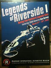 Poster - Legends of Riverside I: Film Festival and Racing Gala (Dan Gurney)