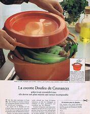 Publicité Advertising 016 1981 Cousances la cocotte Doufeu