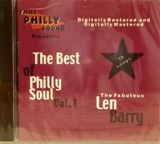 THE BEST OF PHILLY SOUL - Vol# 1 - LEN BARRY  19 Cuts