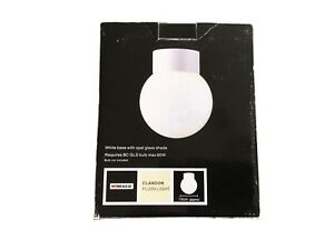 HomeBase Clandon Flush Light New Boxed