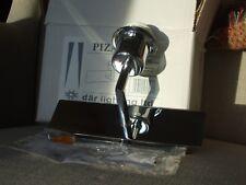 Piza Wall Light silver/chrome Rectangular Modern Fitting Dar Lighting NEW boxed