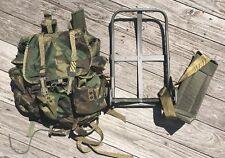 US Army ALICE LC-2 MEDIUM WOODLAND Field Pack w/ Straps, Frame, Belt