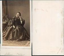 Maria Alboni, cantatrice Vintage CDV albumen carte de visite.Maria Anna Marzia