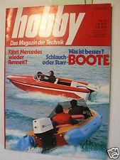 HOBBY 1972-12,MERCEDES RENNEN,TEST CITROEN 2 CV/6,RENAULT 4,VW 1200 TEIL 2,BOOTS