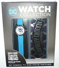 Harley Quinn Watch, Collector Case & Magazine - DC Watch Collection - New