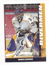 2006-07 Peoria Rivermen (AHL) Marek Schwarz (goalie) (Orli Znojmo)