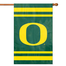 Oregon Ducks House Banner Flag PREMIUM Outdoor DOUBLE SIDE Embroidered