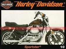 HARLEY DAVIDSON 883 et 1100 Sportster Evo WW2 2ème Guerre Mondiale Military MOTO
