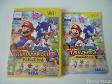 Nintendo Wii Mario & Sonic aux Jeux Olympiques de Londres 2012 - Version PAL FR