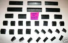 LEGO Black 3040 2x4 2x8 Slope 4445 3039 3038 3037 4 10224 10228 10937 10193 4954