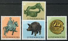 Luxembourg 1973, Culture, Celtic and Gallo-Roman animal depictions set VF MNH