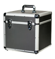 """JACK & CABLE Vinyl Record Case - holds up to 100 x 12"""" LP Albums (JC12683)"""