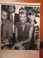 Vtg Wire Press Photo Ivana Trump Ex of Donald Trump 1990