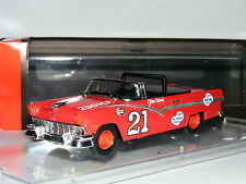 Quartzo 1008 Ford Fairlane Convertible Glen Wood 1957 NASCAR #21 1/43