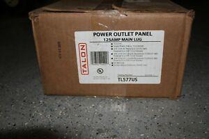 Talon TL577US Power Outlet Panel 125A - OPEN BOX