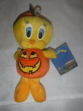 Warner Bros Looney Toons of Terror Tweety Bird Pumpkin Beanie 1988