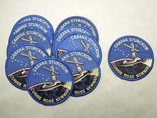 Lot of 10 Small NASA Space Shuttle STS-88 Endeavour Astronauts Patches