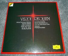 415 091-1 - VERDI - REQUIEM - CARRERAS, VAN DAM - KARAJAN - 2 LP DG DIGITAL