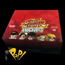 Street Fighter LIL KNOCKOUTS Ser 1 Vinyl MINI Figure CASE of 12 Cryptozoic NEW!