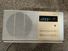 Nakamichi TM-1 Table Top Radio Vintage Alarm Clock  Tan