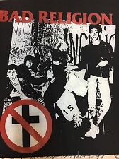 Bad Religion Punk Band Back Patch NEW Cloth Los Angeles American Punk Suffer