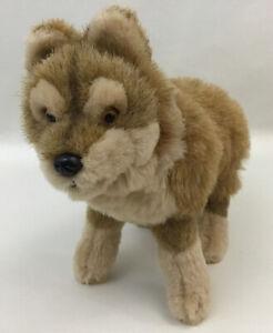 """American Girl Doll Kaya Pet Wolf Dog Puppy Tatlo 10"""" Plush Stuffed Animal 2008"""