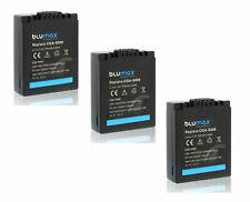 3x CGA-S006E Battery for Panasonic Lumix DMC-FZ8 DMC-FZ18 FZ30 DMC-FZ38