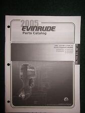 2005 BRP Evinrude Outboard Parts Catalog Manual 100 115 HP DI 60 V4 1726 cc