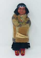 Vintage TOPPENISH WASHINGTON Native American Skookum Minnetonka Indian Doll