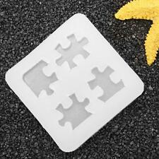 Puzzle DIY Silicone Mold Mould 3D For Resin Pendant Jewelry Cake Making Tool
