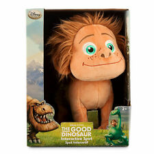 Disney Store Authentic The Good Dinosaur Spot Interactive Talking Plush Toy 10""