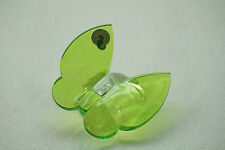WATERFORD CRYSTAL BUTTERFLY FIGURINE PAPERWEIGHT SCULPTURE GREEN SIGNED FIGURE