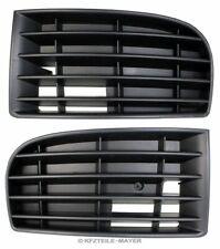 SET Satz 2x Lüftungsgitter Blende Stoßstange Stoßfänger für VW Golf 5 V