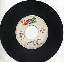 ALPHAVILLE disco 45 MADE in ITALY 1984 Sounds like a melody + The Nelson highris