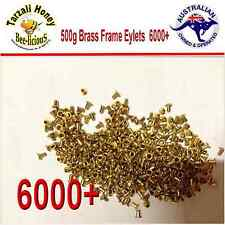 BEEKEEPING BRASS FRAME EYELETS 500 gram  FOR WOODEN FRAMES  6000 + BEE EQUIPMENT
