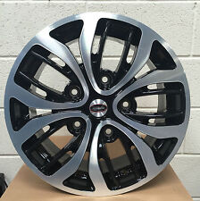 "18 ""Team dynaimcs NERO LUCIDO RUOTE IN LEGA 5x160 FORD TRANSIT CUSTOM incl"