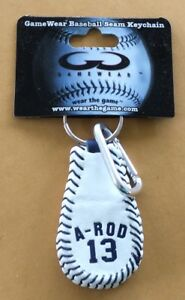 Wear The Game NY Yankees A-Rod Keychain NEW