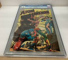 ATOM AND HAWKMAN #45 CGC 9.4 WHITE PAGES Last Issue, Jean Loring Driven Insane