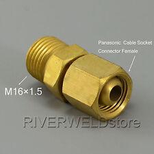Panasonic & Cable M16*1.5 cambio conjunta para Cortador de Plasma y Antorcha Tig weliding