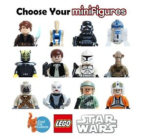 Genuine Lego Star Wars Used Retired Minifigures | Pick From List | RE-STOCKED!