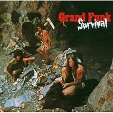 GRAND FUNK RAILROAD SURVIVAL 5 Extra Tracks REMASTERED CD NEW