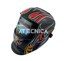 Maschera lcd autoscurante Atecnica MEGA600GR per saldatura elettrodo MIG MAG TIG