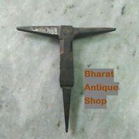 Black Iron Anvil Collectible Blacksmith Tool useful Antique