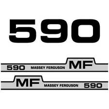 Massey Ferguson 590 decal aufkleber adesivo sticker set